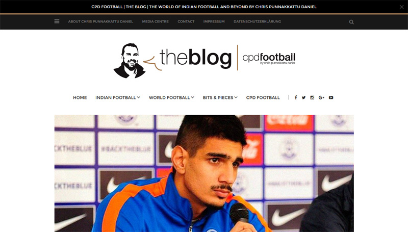 chrispd.de - The World of Indian football and beyond